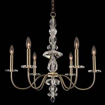 Allegri 031250-041-FR001 Bolivar Champagne Gold Mini Chandelier Lamp