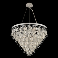 Allegri 031951-010-FR001 Carmella Chrome Hanging Pendant Light / Ceiling Light Fixture