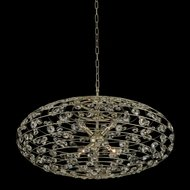 Allegri 032553-041-FR001 Gemini Champagne Gold Hanging Pendant Lighting