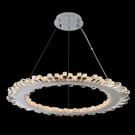 Allegri 032751-010-FR001 Quasar Chrome LED 34  Hanging Light Fixture