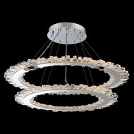 Allegri 032753-010-FR001 Quasar Chrome LED Drop Ceiling Lighting