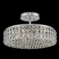 Allegri 032840-010-FR001 Loro Chrome 13  Ceiling Lighting Fixture