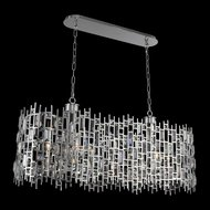 Allegri 033060-010-FR001 Fonseca Chrome Island Lighting
