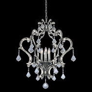 Allegri 034051-048-FR001 Argento Matte Black w/Polished Stainless Steel Chandelier Lamp