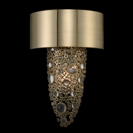 Allegri 034220-038-FR001 Ciottolo Brushed Champagne Gold Wall Light Fixture