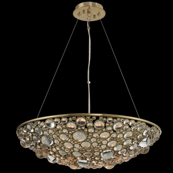 Allegri 034250-038-FR001 Ciottolo Brushed Champagne Gold 24  Lighting Pendant