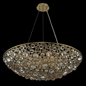 Allegri 034251-038-FR001 Ciottolo Brushed Champagne Gold 32 Pendant Lamp