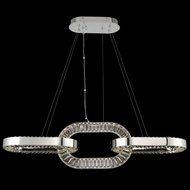 Allegri 034360-010-FR001 Catena Chrome LED Kitchen Island Lighting