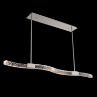 Allegri 034861-046-FR001 Athena Polish Nickel LED Kitchen Island Lighting
