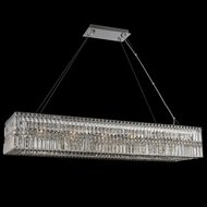 Allegri 035060-010-FR001 Rettangolo Chrome 50  Kitchen Island Light Fixture