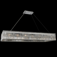 Allegri 035061-010-FR001 Rettangolo Chrome 60  Island Lighting