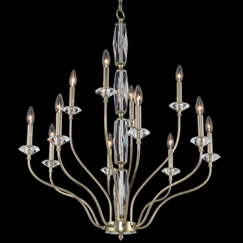 Allegri 035671-041-FR001 Savia Champagne Gold Chandelier Light