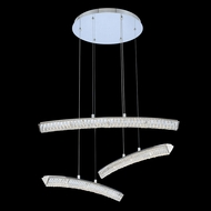 Allegri 035750-010-FR001 Aries Chrome LED Multi Hanging Light Fixture