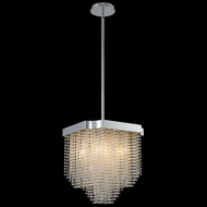 Allegri 036050-010-FR001 Tenda Chrome 14  Ceiling Pendant Light