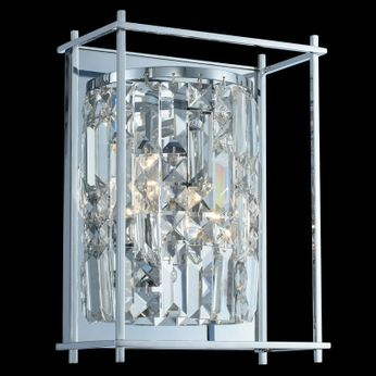 Allegri 036120-010-FR001 Joni Chrome Wall Lighting Sconce