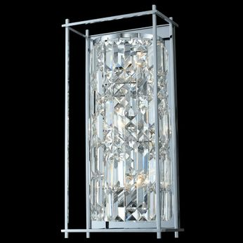 Allegri 036121-010-FR001 Joni Chrome Wall Mounted Lamp
