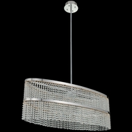 Allegri 036261-010-FR001 Cortina Modern Chrome LED Island Lighting