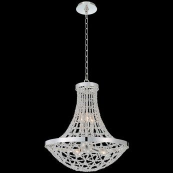Allegri 036455-014-FR001 Felicity Polished Silver Pendant Light Fixture