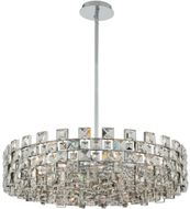 Allegri 036656-010-FR001 Piazze Polished Chrome Drum Lighting Pendant