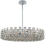 Allegri 036657-010-FR001 Piazze Polished Chrome Drum Ceiling Light Pendant