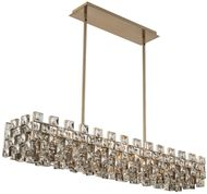 Allegri 036661-038-FR001 Piazze Brushed Champagne Gold Kitchen Island Lighting
