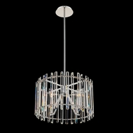 Allegri 036855-010-FR001 Viano Polished Chrome 17  Drum Pendant Lamp