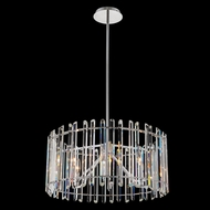 Allegri 036856-010-FR001 Viano Polished Chrome 22  Drum Hanging Lamp