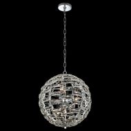 Allegri 037255-010-FR001 Alta Polished Chrome Pendant Hanging Light