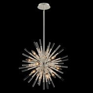 Allegri 037455-014-FR001 Sprazzo Polished Silver Mini Chandelier Light