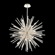 Allegri 037457-014-FR001 Sprazzo Polished Silver 36  Hanging Chandelier