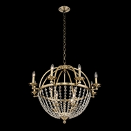 Allegri 037771-038-FR001 Pendolo Brushed Champagne Gold 30  Chandelier Lighting