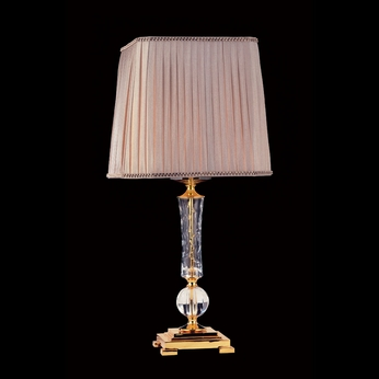 Allegri 10758 Stand Alone 24K Gold Finish 27.5  Tall Table Light
