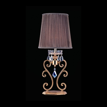 Allegri 10848 Titian Two-tone Gold/24K Finish 12.5 Wide Table Top Lamp