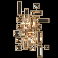 Allegri 11191-038-FR001 Vermeer Brushed Champagne Gold Wall Sconce