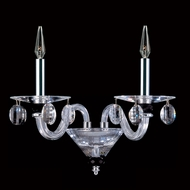 Allegri 11525 Fanshawe Chrome Finish 16  Wide Candle Lighting Sconce