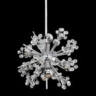 Allegri 11631 Constellation Chrome Hanging Lamp