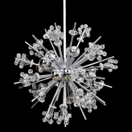 Allegri 11632 Constellation Chrome Hanging Light