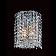 Allegri 11661 Millieu-Metro Chrome Finish 7  Wide Wall Lighting