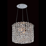 Allegri 11666 Millieu-Metro Chrome Finish 8  Wide Drop Lighting
