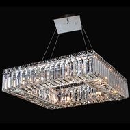 Allegri 11710-010-FR001 Quadro Chrome 18  Hanging Pendant Light