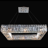 Allegri 11711-010-FR001 Quadro Chrome 26  Pendant Hanging Light