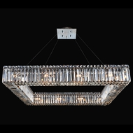 Allegri 11712-010-FR001 Quadro Chrome 35  Hanging Light Fixture