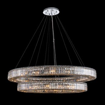 Allegri 11720-010-FR001 Rondelle Polished Chrome Pendant Lighting