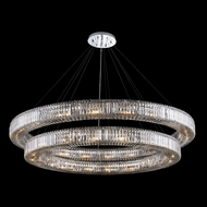 Allegri 11721-010-FR001 Rondelle Polished Chrome Pendant Light