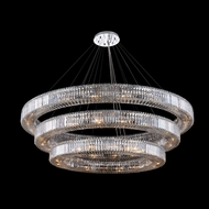 Allegri 11723-010-FR001 Rondelle Polished Chrome Pendant Lamp