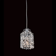 Allegri 11763 Millieu Chrome Finish 6  Wide Mini Drop Ceiling Lighting