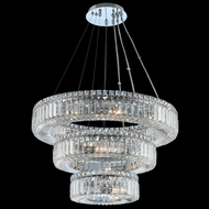 Allegri 11772-010-FR001 Rondelle Chrome 26  Drop Lighting Fixture
