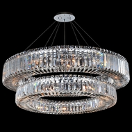 Allegri 11774-010-FR001 Rondelle Chrome 36  Pendant Light