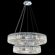 Allegri 11775-010-FR001 Rondelle Chrome 26  Lighting Pendant