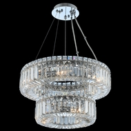 Allegri 11776-010-FR001 Rondelle Chrome 18  Pendant Lamp